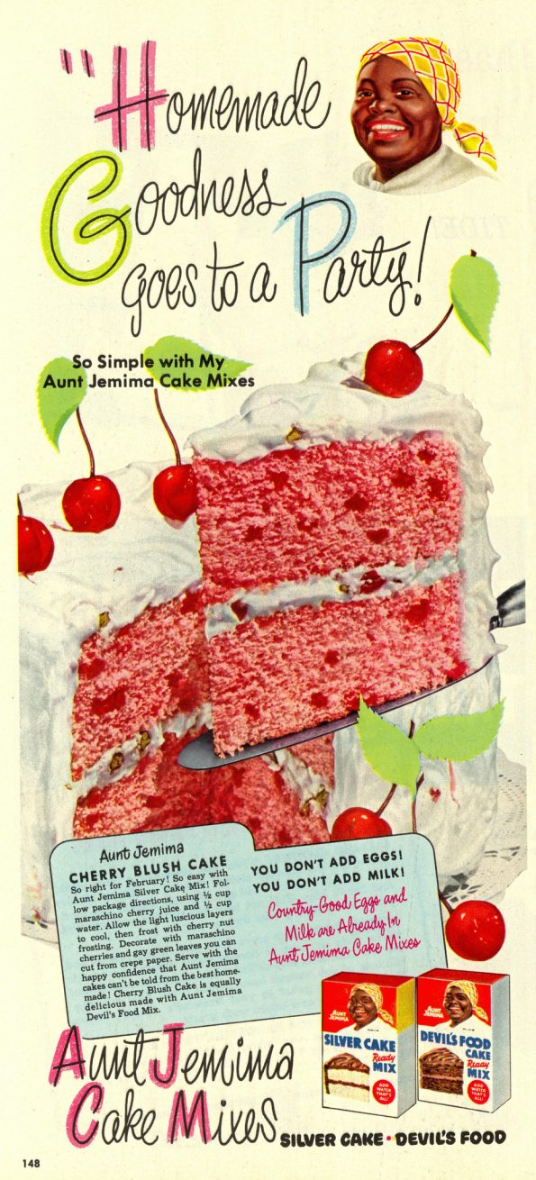 Recipe for Cherry Blush Cake