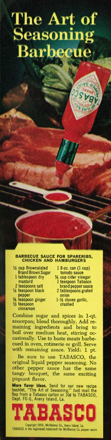 Not too much sweet, with the right amount of heat. Here's a recipe for a great BBQ sauce that has stood the test of time!